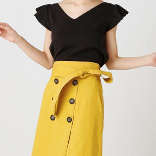 マーキュリーデュオ(MERCURYDUO)のMERCURYDUO 黒トップス(Tシャツ(半袖/袖なし))