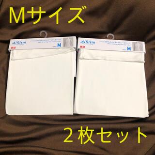 UNIQLO - 【新品未使用】ユニクロ エアリズム UVカットハイネックT M (2枚セット)