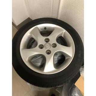 [早期取引希望] マツダ デミオ 純正ホイール タイヤ 4本セット(タイヤ・ホイールセット)