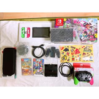 ニンテンドースイッチ(Nintendo Switch)の【早い者勝ち★】 Nintendo Switch 本体お得セット スプラトゥーン(家庭用ゲーム機本体)