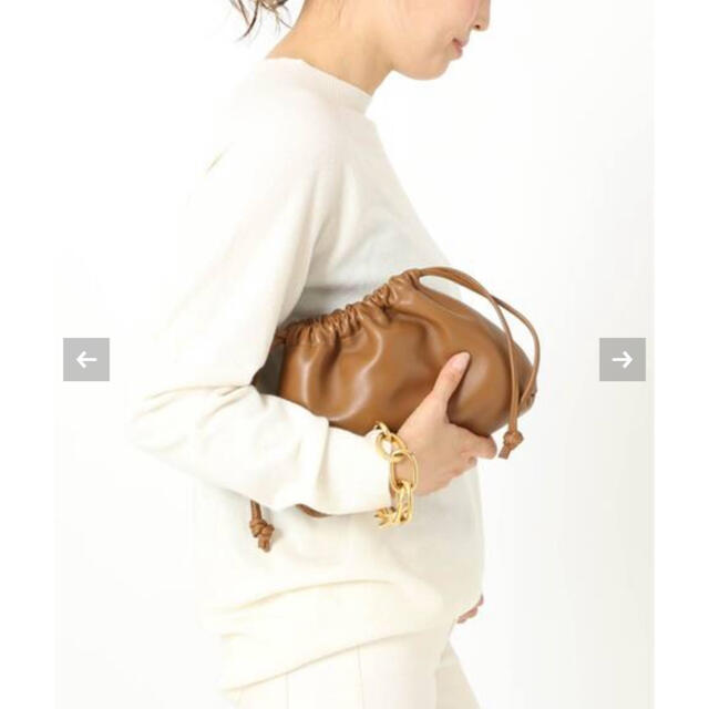DEUXIEME CLASSE(ドゥーズィエムクラス)の【新品】Deuxieme Classe CELERI BAG  キャメル レディースのバッグ(ショルダーバッグ)の商品写真
