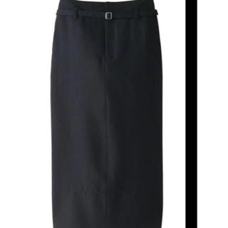ADORE - ebure  リネンタイトロング スカート