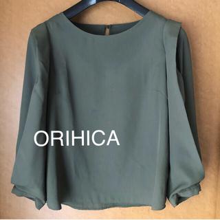 ORIHICA - オリヒカ ブラウス トップス カットソー オフィスカジュアル