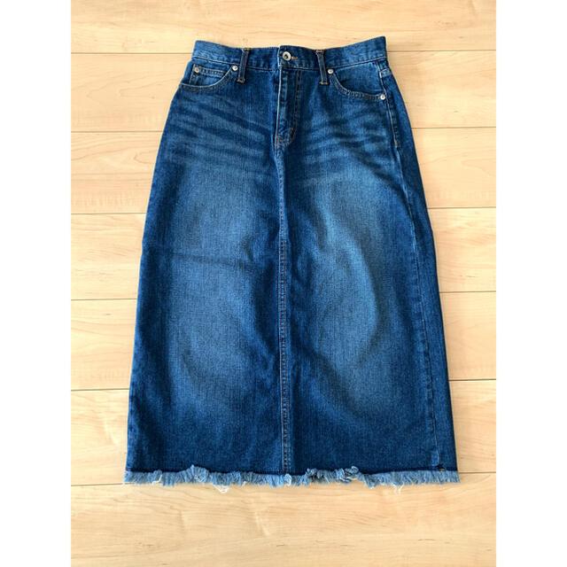 BACK NUMBER(バックナンバー)の【お値下げ!】BACK NUMBER デニムスカート レディースのパンツ(デニム/ジーンズ)の商品写真