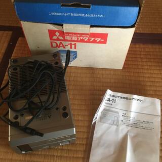 ミツビシ(三菱)の三菱 ビデオ用アダプター DA11(その他)