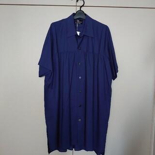ヨウジヤマモト(Yohji Yamamoto)のs'yteサイト 新品ヨークギャザーシャツ M(シャツ/ブラウス(半袖/袖なし))