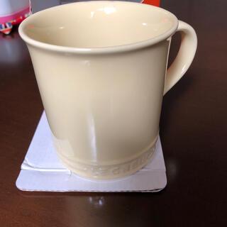 ルクルーゼ(LE CREUSET)のルクルーゼ マグカップ 400ml カスタード(グラス/カップ)