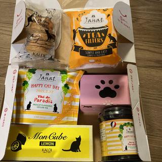 カルディ(KALDI)の猫の日 カルディ 詰め合わせ ジャンナッツ紅茶2点他(菓子/デザート)