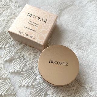 COSME DECORTE - コスメデコルテ フェイスパウダー ミニサイズ 80