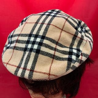 BURBERRY BLACK LABEL -  Burberry☆ハンチング帽☆美品