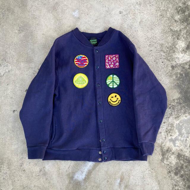 Champion(チャンピオン)のCAMBER スナップジャケット ワッペン付き メンズのジャケット/アウター(スタジャン)の商品写真