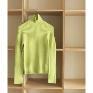 TODAYFUL - 完売 todayful wool rib knit 美品 リブ ニット タートル