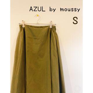 アズールバイマウジー(AZUL by moussy)のレディース 古着  スカート フレアスカート AZUL by moussy(ひざ丈スカート)