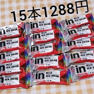 モリナガセイカ(森永製菓)の森永IN プロテインバーベイクドチョコ、15本セット(菓子/デザート)