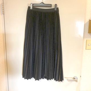 プリーツスカート新品(ロングスカート)