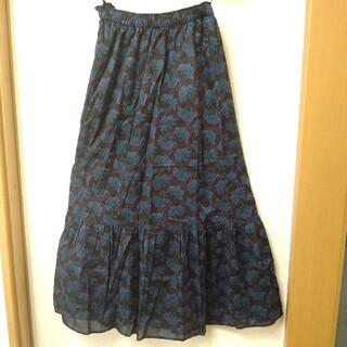 アナスイ(ANNA SUI)のANNA SUIのフレアースカート(ロングスカート)