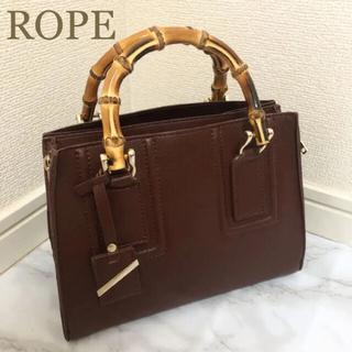ロペ(ROPE)のロペ ジャバラバンブー ミニショルダーバッグ(S)ハンドバッグ(ハンドバッグ)