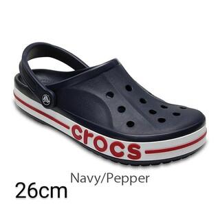crocs - 26cm ネイビー/ペッパー クロックス バヤバンド