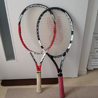硬式テニスラケット 2本セット(ラケット)