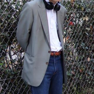 バーバリー(BURBERRY)のBURBERRY テーラードジャケット 80s モヘア BURBERRYS 古着(テーラードジャケット)