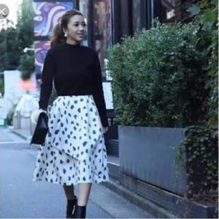 eimy istoire - エイミーイストワール ダルメシアン柄 ボリュームスカート フリーサイズ