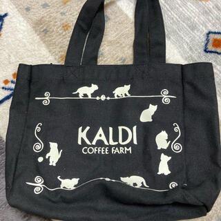 KALDI - カルディ ネコの日バック 未使用