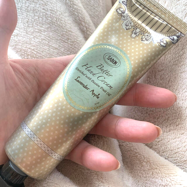 SABON(サボン)のSABON バターハンドクリーム ラベンダーアップル コスメ/美容のボディケア(ハンドクリーム)の商品写真