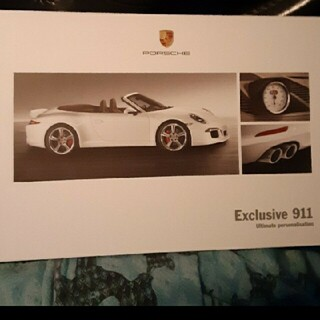 ポルシェ(Porsche)のポルシェ ディーラーカタログ 911 2012年(カタログ/マニュアル)