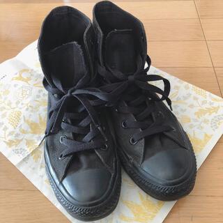 CONVERSE - コンバース ハイカット スニーカー CONVERSE 黒 ブラック