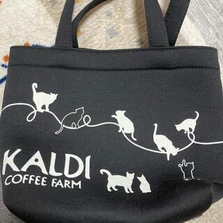 カルディ(KALDI)のカルディ ネコの日バック 未使用(トートバッグ)