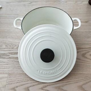 ルクルーゼ(LE CREUSET)のル・クルーゼ 両手 鍋 24cm IH対応(鍋/フライパン)