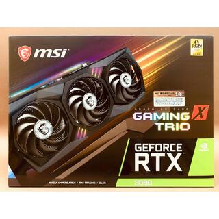 新品 MSI RTX 3080 GAMING X TRIO 10G(PCパーツ)
