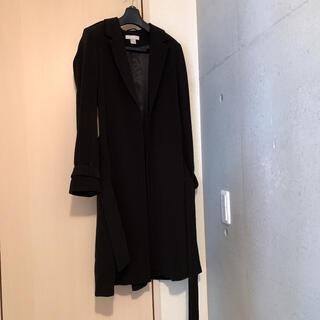 エイチアンドエム(H&M)のH&M コート 黒(トレンチコート)