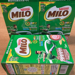 ネスレ(Nestle)の【新品】ネスレ ミロ オリジナル  スティックタイプ 15g ×5本入 × 3箱(その他)