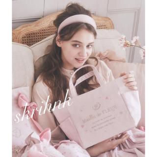 Maison de FLEUR - ♡メゾンドフルール♡Sakuraサイドポケットトートバッグ♡桜♡ジルスチュアート