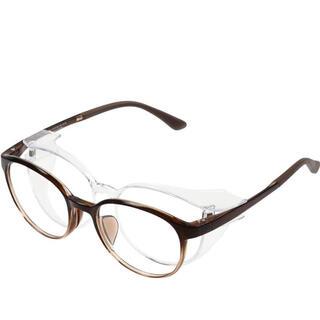 ゾフ(Zoff)のzoff 花粉 メガネ 眼鏡 レンズ交換券付き メンズ レディース 黒 茶 色(サングラス/メガネ)