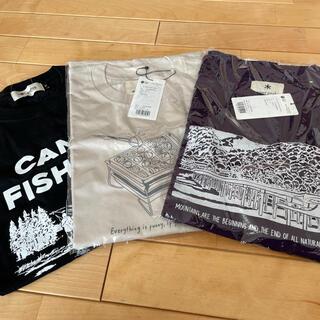 スノーピーク(Snow Peak)のスノーピーク 店舗限定Tシャツ 3点セット サイズM(Tシャツ/カットソー(半袖/袖なし))