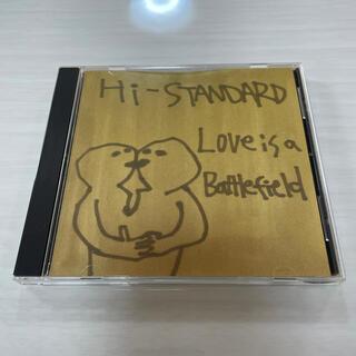 Hi-STANDARD Love Is A Battlefield(ポップス/ロック(邦楽))