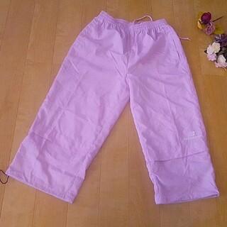 ニューバランス(New Balance)のピンク色のジャージ(カジュアルパンツ)