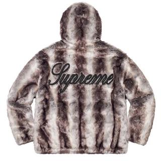 シュプリーム(Supreme)のFaux Fur Reversible Hooded Jacket Black(ブルゾン)