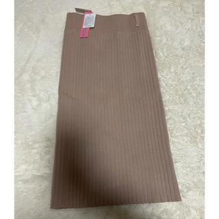 スピーガ(SPIGA)のニットスカート SPIGA(ひざ丈スカート)