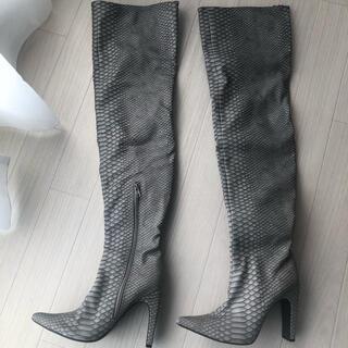イエローブーツ(Yellow boots)のyello WEB完売品 ロングブーツ ニーハイブーツ(ブーツ)