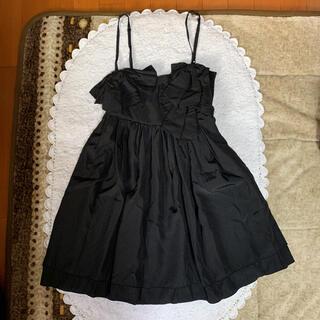 マーキュリーデュオ(MERCURYDUO)のマーキュリーデュオ リボン ドレス ♬︎♡(ミニドレス)