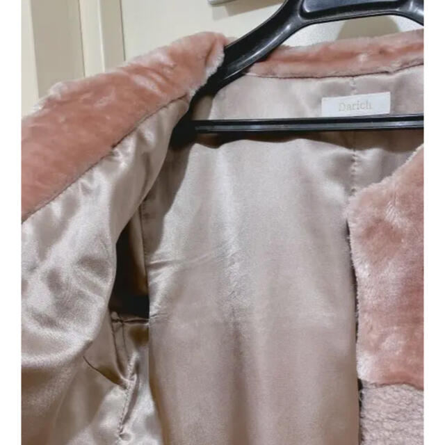 eimy istoire(エイミーイストワール)のダーリッチ✨darich  ランダムファーコート レディースのジャケット/アウター(毛皮/ファーコート)の商品写真