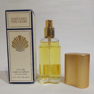 エスティローダー(Estee Lauder)のエスティローダー ホワイトリネン オーデパフューム オーデコロン 60ml(香水(女性用))