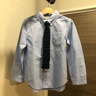 アカチャンホンポ(アカチャンホンポ)のah キッズフォーマルシャツ ネクタイ付き 120(ドレス/フォーマル)
