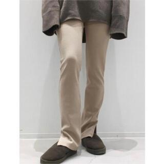 アパルトモンドゥーズィエムクラス(L'Appartement DEUXIEME CLASSE)のアパルトモン Wool Zip Leggings(レギンス/スパッツ)