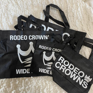 ロデオクラウンズ(RODEO CROWNS)の〆RodeoCrowns ショッパーSET(ショップ袋)