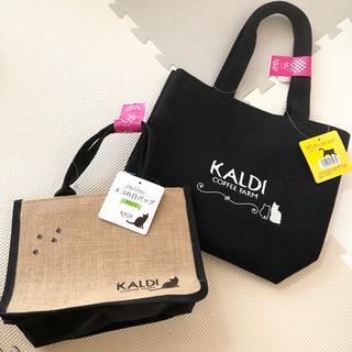 カルディ(KALDI)のKALDI カルディ ネコの日バッグ ネコ 猫 (トートバッグ)