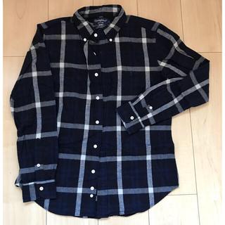 ジムフレックス(GYMPHLEX)のGymphlex ジムフレックス ネルシャツ サイズ14 ネイビー(シャツ/ブラウス(長袖/七分))